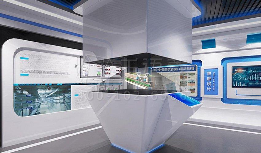 海口机械展厅综合-海口市地下设计管廊科普外贸设计图展厅验货科普设计图片